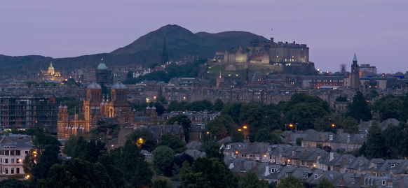 Skyline von Edinburgh © Marketing Edinburgh